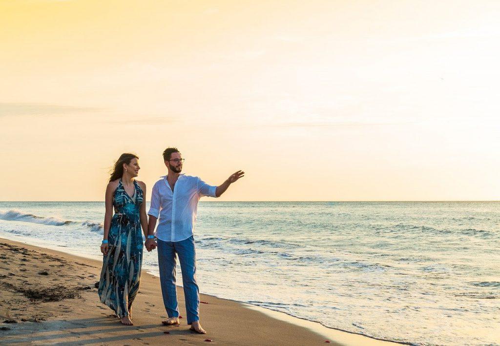 Romantisch weekendje weg aan zee